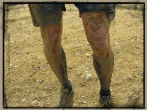 Indiana Spartan Sprint knees