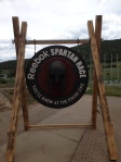 Spartan Race Sign
