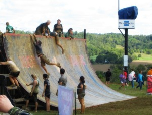 Rugged Maniac Warped Wall