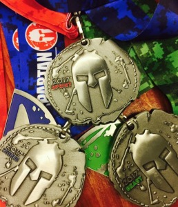 2017spartanracemedals