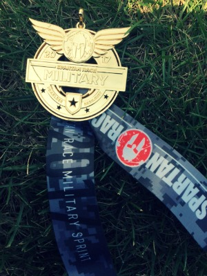 Fort Knox Spartan Race medal